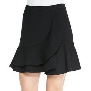 BCBG MaxAzria Kimberly Ruffled A-Line Skirt